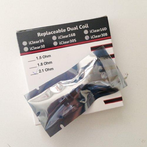 IdealVape Innokin Iclear 30B BDC Ersatz-Verdampfer, 2,1Ohm, 5er-Pack