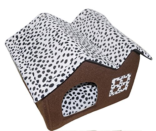 DoubleBlack High Quality Indoor Pet Dog / Cat House 53 x 38 x 45 cm