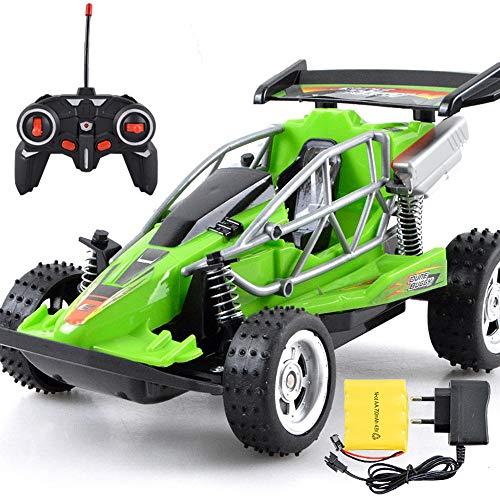 ZXYWW RC-Car, Robustes Ferngesteuertes Geländewagen, Ferngesteuertes Fahrzeug Mit Funkfernsteuerung, Elektrisches Spielzeug Mit Allradantrieb,Green