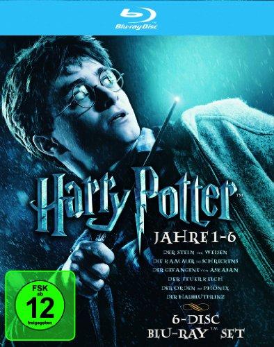 Harry Potter - Die Jahre 1-6 (6 Blu-rays)