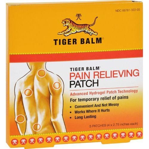 Tiger Balm - parche - parche 5 de alivio del dolor