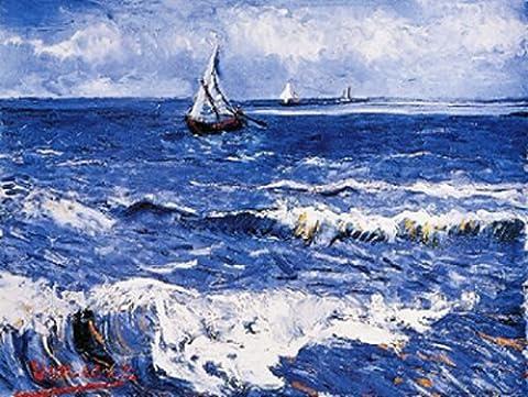 Vincent Van Gogh - Paesaggio Marino Kunstdruck