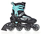 Raven Inline Skates Inliner Profession Black/Mint verstellbar