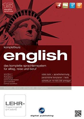Komplettkurs English. Version 15: Das komplette Sprachlernsystem für Alltag, Reise und Beruf....