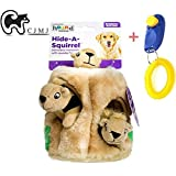 Squirrel Dog Plush Toys, CJMJ Durable Squeak Hide - Best Reviews Guide