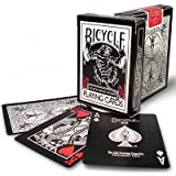 Ellusionist Bicycle Black Tiger Deck Spielkarten, rote Zeichen