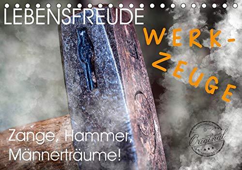 Lebensfreude Werkzeuge (Tischkalender 2020 DIN A5 quer): Wir Handwerker lieben Werkzeuge jeglicher Art. Auf zum Baumarkt Heimwerker! Hammer, Pinsel ... 14 Seiten ) (CALVENDO Hobbys)
