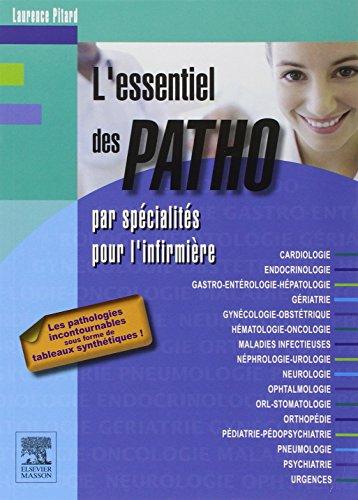L'essentiel des PATHO: par spécialités pour l'infirmière
