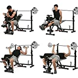 Best Olympic Weight Benches - Olympic Weight Bench Adjustable Foldable Multi-Functional Weight Bench Review