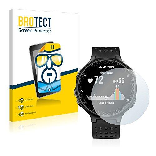 Preisvergleich Produktbild 2x BROTECT HD-Clear Displayschutzfolie Garmin Forerunner 235 Schutzfolie Folie - Klar, Anti-Fingerprint