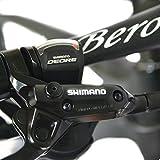 Beiou CB024 Hardtail-Mountainbike, mit Shimano M610 Deore 30-Gang-Kurbelgarnitur, Toray T800-Karbonfaser, ultraleichter Rahmen, 10,65 kg, 26-Zoll-Räder, Damen, matte black, 19-Inch Vergleich