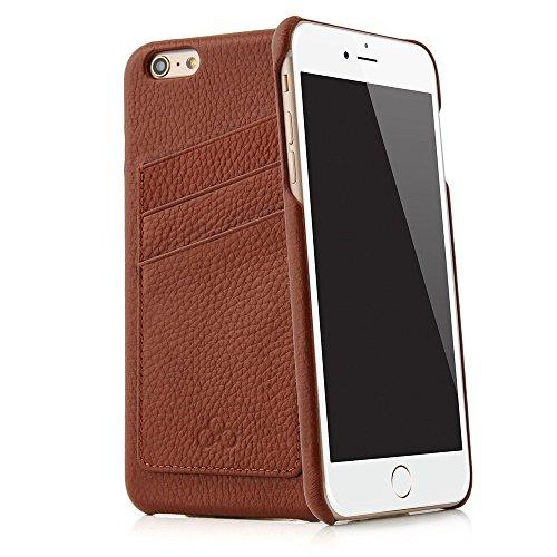"""Pochette étui de protection QUADOCTA """"N° 5"""" en cuir pour iPhone d'Apple 7 Plus 5,5 pouces, noir (midnight black) en cuir véritable. Pochette en cuir fin comme accessoire élégant pour iPhone 7 Plus (5, No. 3"""