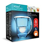 Aqua Optima 6 Month Pack - Oria Water filter jug with 3 x 60 day water filter cartridges
