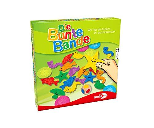 noris 606011639 Die Bunte Bande, Kinderspiel