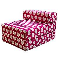 STANDARD CHAIRBED - Kids Single Chair Z bed Guest Childrens Futon