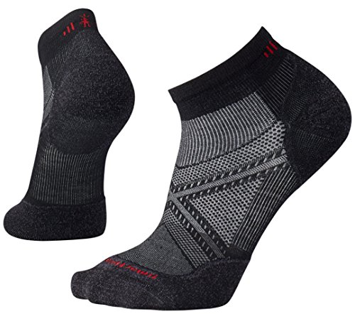 Smartwool Herren PhD Run Light Elite Low Cut Socks PhD Run Light Elite Low Cut, Schwarz (Black), XL (Herstellergröße: XL) (Apparel Socks Herren Wool)