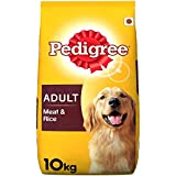 Pedigree Adult Dog Food, Meat And Rice, 10 Kg Pack
