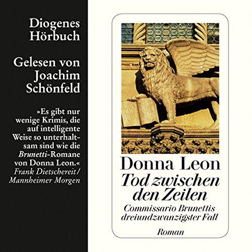 Buchseite und Rezensionen zu 'Tod zwischen den Zeilen (Guido Brunetti 23)' von Donna Leon