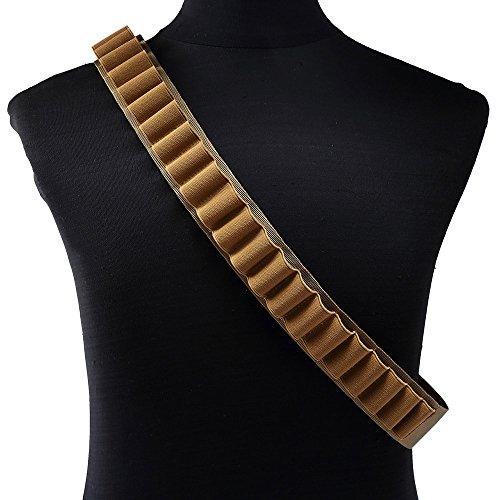 ?Portable Outdoor-27 Kugel Tasche Shotgun Shell Halter Gürtel Sling Patronengürtel Khaki