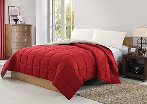 caribbean-joe-vcny-coperta-reversibile-king-rosso-tortora