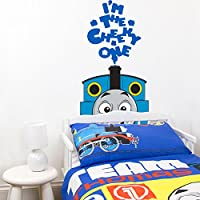Thomas the cheeky one wall sticker | Official Thomas and Friends wall sticker collection | UK