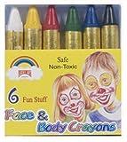 Pack de 6 crayons de maquillage pour déguisement - Import Royaume Uni