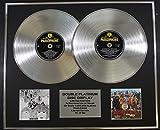 THE BEATLES/Zweifache Platin Schallplatte DISPLAY/Limitierte Edition/COA/REVOLVER & SGT PEPPERS