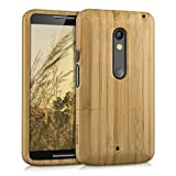 kwmobile Holz Hülle für Motorola Moto X Play Case