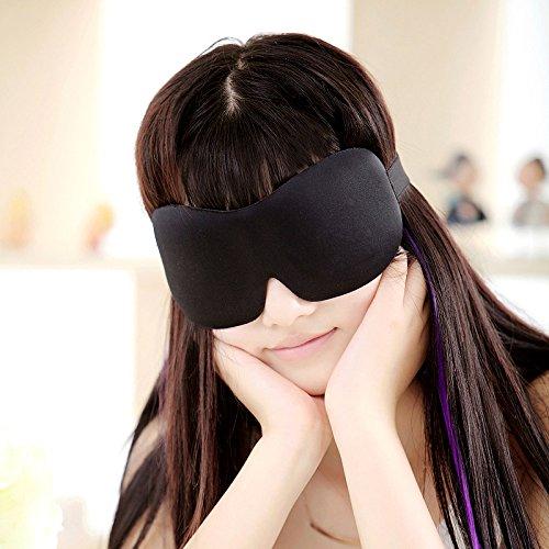&zhou Visière 3D coton voyage essentiel de décompression confortable aide sommeil respirante