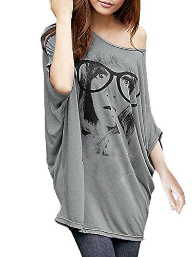 allegra-k-women-batwing-sleeve-portrait-pattern-loose-fit-tunic-top-l-grey