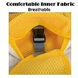 SymbolLife Kühlweste für Hunde Vest Selbstkühlend Atmungsaktiv Blau/Gelb (XL, Gelb) - 6