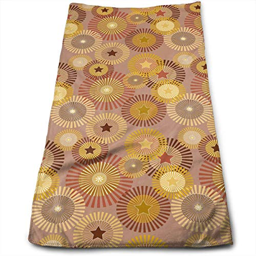 Terry Cloth Towel Sunny Sunflowers Super Soft Absorbent Sports/Beach/Shower/Pool Towel
