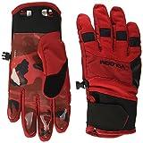Volcom Herren Crail Glove Snowbaordhandschuhe, Blood Red, L