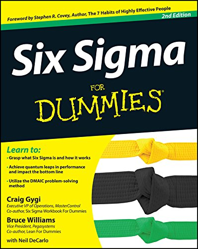 Six Sigma For Dummies (English Edition)