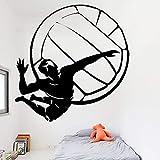 xingbuxin Volleyball Player Wandaufkleber Für Jungen Schlafzimmer Dekoration Abnehmbare...