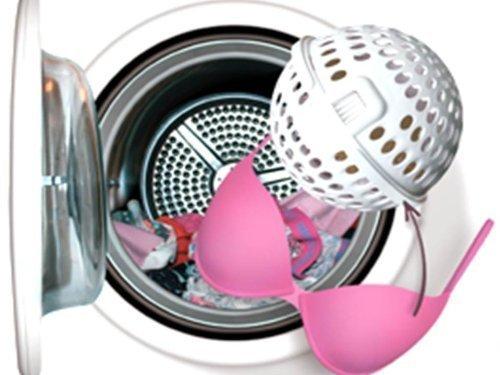 Betty Ball Vergessen Sie das Wäschenetz Der Betty Ball, Waschkugel,BH Wäscheschutz ist die Lösung für diejenigen die lhren (Schalen) BH in guter Form behalten möchten und gleichzeitig die Bequemlichkeit von der Waschmaschine benutzen wollen.