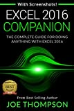 EXCEL: EXCEL COMPANION (WITH 220 SCREENSHOTS + A PRINTABLE 4 PAGE CHEAT SHEET) (EXCEL 2016 FOR BEGINNERS, EXCEL 2016 FOR DUMMIES, EXCEL 2016 STEP BY STEP, EXCEL 2016 CHEAT SHEET) (English Edition)