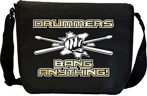 Drum Kit Bang Anything - Sheet Music Document Bag Musik Notentasche MusicaliTee