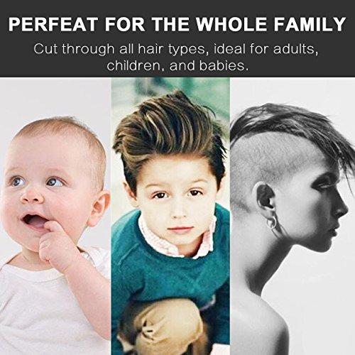 Rantzion Professional Haircut Kit Men And Babies Quiet Electric