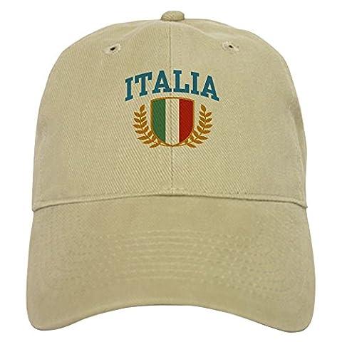 CafePress - Italia - Baseball Cap with Adjustable Closure, Unique Printed Baseball Hat