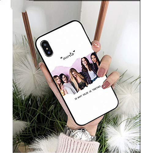 HBBQRS Pretty Little Liars PLL TV Show TPU Phone Case Cover for Apple iPhone 8 7 6 6S Plus X XS MAX 5 5S SE XR Mobile Cases,A5,for iPhone 8 Mobile Tv Iphone