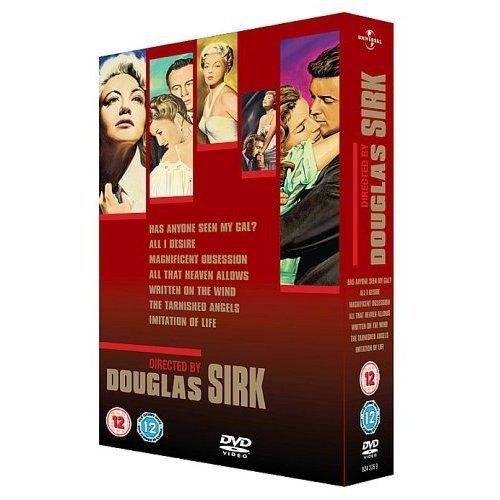 Douglas Sirk Collection - 7-DVD Box Set ( Has Anybody Seen My Gal / All I Desire / Magnificent Obsession / All That Heaven Allows / Written on the Wind / The Ta [ UK Import ]