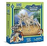 Geoworld 625270 - Dr. Steve Hunters: Dino Ausgrabungs-Set - Stegosaurus-Skelett, Alter: 6+, Größe: 28 cm
