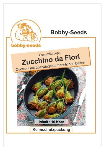 Bobby-Seeds Zucchinisamen Zucchino da Fiori 50 Korn