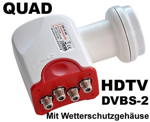 Diverse Universal Quattro-Switch LNB BW 40 QS 40mm Feed