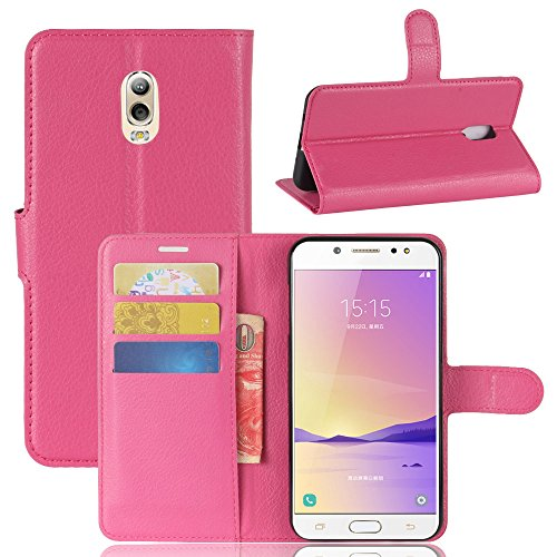 dadb6a5715e Flip Wallet Case for Samsung Galaxy C7 2017 Leather Covers for Shock  Protection with Card Slots