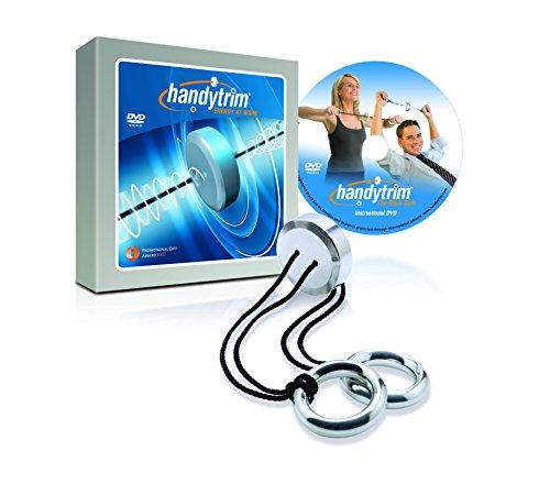Handytrim® Rotationsexpander – Heimtrainer und Mini Fitnessgerät für zuhause und unterwegs inklusive Trainings-DVD