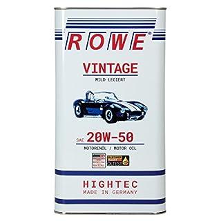 ROWE HIGHTEC VINTAGE SAE 20W-50 MILD LEGIERT, 5 Liter