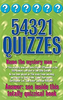 54321 Quizzes (Categorically Quizzes Book 12) by [Rigby, Christopher]
