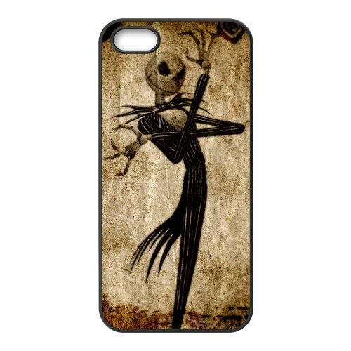 Coque Iphone 5/iPhone 5S Case, Screen Protector pour iPhone 5 5S, The Nightmare Before Christmas Designs iPhone 5S Case, iPhone 5/iPhone 5S Coque de protection Case